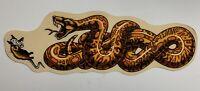 Vintage Santa Cruz Skateboard Sticker Jeff Kendall NOS Original 80s🔥