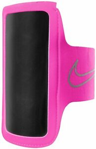 NIKE LIGHTWEIGHT ARM BAND CASE RUNNING TRAINING IPHONE ANDROID 2.0 WOMENS PINK
