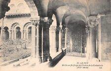 LE PUY - Grille en fer forgé du Cloître de la Cathédrale XIIe siècle