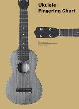 Ukulele Fingering Chart Sheet Music Book NEW 014041707