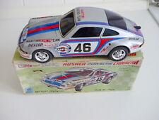 Taiyo Porsche 911  mit OVP - Vintage 70iger  Blechspielzeug - Tin Toy - Mint...