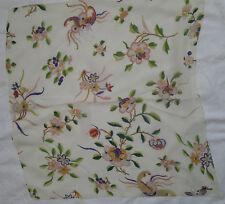 -Superbe Foulard  tour de cou CHRISTIAN DIOR   100% soie TBEG  vintage scarf