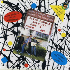 "Elvis Costello, Live At Hollywood High, NEW/MINT Original UK 7"" vinyl single"