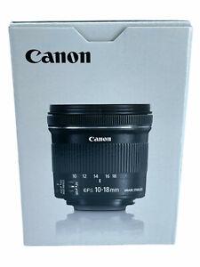 Canon Objektiv EF-S 10-18 mm F/4.5-5.6 IS STM Ultra Weitwinkel EOS EFS NEU OVP