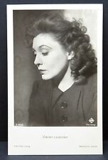 Zarah Leander - AK - Foto Autogramm-Karte - Photo Postcard (Lot F8297