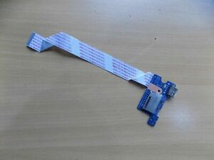 Scheda porta USB board card per HP 250 G4 - HP 255 G4 + cavo cable CARD READER
