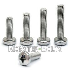 #4-40 - Phillips Pan Head Machine Screws, 18-8 A2 Stainless Steel, Sae Inch / Us