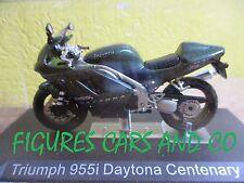 MOTO 1/24 TRIUMPH  955 i  DAYTONA CENTENARY COLLECTION GM