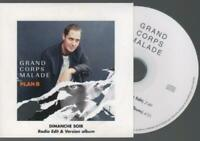 Grand Corps Malade Dimanche Soir Cd Promo pochette cartonnée