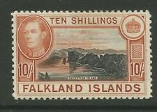 Falkland Islands GVI SG162 10/- mint cat val £200