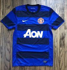 NIke Dri Fit Manchester United Mens Short Sleeve Soccer Futbol Jersey Size Small