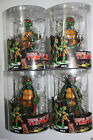 4 PCS NECA TMNT TEENAGE MUTANT NINJA TURTLES RED HEADBAND Action Figures in Box