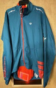 Pearl Izumi Elite Barrier unisex adult turquoise orange jacket M