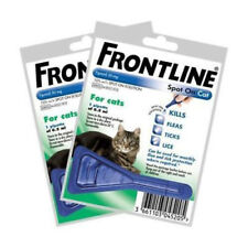 Frontline Spot On Cat Flea Treatment 2 Pipettes Same day dispatch & Free Post