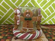 Yankee Candle - Gingerbread/Peppermint Votive Holder - New