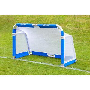 Samba Football Soccer Match Goal Post 5' x 3' Aluminium Folding Goal