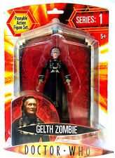 Doctor Who Series: 1 - Gelth Zombie Poseable Action Figure-BBC 2004 New
