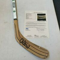 Alexander Mogilny Signed 1992 Game Used Hockey Stick JSA COA