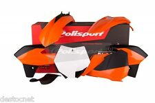 Kit plastiques Polisport  Couleur Origine Pr KTM SX85 2013-2014