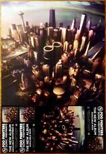 FOO FIGHTERS Sonic Highways Ltd Ed RARE Poster +FREE Rock Poster! Concrete+Gold