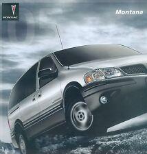 Pontiac Montana Prospekt USA 2005 sales brochure Auto PKWs Autoprospekt Amerika