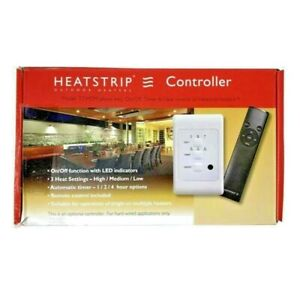 HEATSTRIP CONTROLLER WITH 1/2/4 HOUR TIMER HIGH/MED/LOW HEAT SETTINGS BRAND NEW