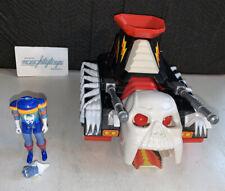 Vtg Voltron Skull Tank Vehicle Defender Of The Universe 80's & Broken Figure LOT