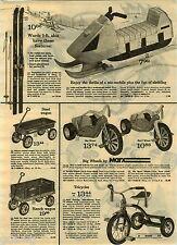 1973 PAPER AD Marx Big Wheel Dragster Hot Foot Seat Chopper RRRumbler Blaster