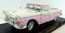 Lucky Diecast 1/18 Scale 92208 1957 Ford Ranchero Pink White