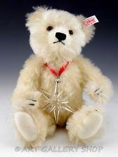 Steiff 2005 Swarovski Teddy Bear with ANNUAL CHRISTMAS STAR SNOWFLAKE CRYSTAL
