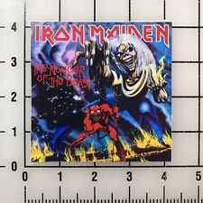 "Iron Maiden The Number of the Beast 4"" Wide Vinyl Decal Sticker BOGO"