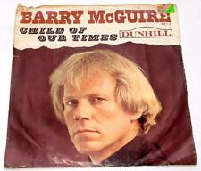 Barry Mcguire Child Of Our Times '65 Dunhill 4014 Folk Rock 45 RPM PS Strong VG+