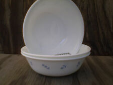 Corelle Dishes Provincial Blue 18 Oz. Soup, Cereal Or Salad Bowls 3 Ct.