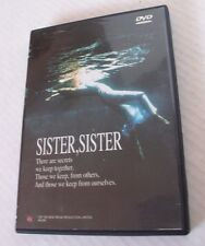 SISTER, SISTER, DVD, JENNIFER JASON LEIGH, ERIC STOLTZ, 1987  TOP TEN NEW MEDIA