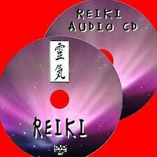 SCOPRI reiki GUARIGIONE SPIRITUALE DVD Guide + Rilassante CD AUDIO Inc 3 min Campanelli Nuovo