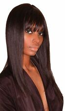 Sleek 100% Human Hair Wig Superb with free wig cap & Hair Spray
