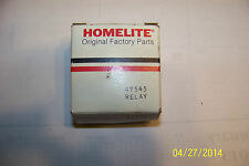 Genuine Homelite #47545 Relay generator NOS NEW