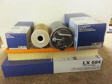 VW Golf MK IV 4 1.9 SDi TDi 1896cc Oil Air Fuel Filter Service Kit Genuine MAHLE
