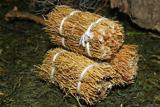 Bale of Hay Set/3 Dollhouse Miniature Western Barn Farm Diorama Ranch Nativity