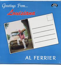 Al Ferrier SEALED new/old swamp-pop LP Greetings From Louisiana