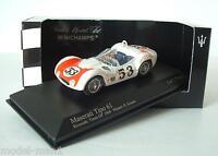 Minichamps 1/43 Maserati Tipo 61 Birdcage Riverside Times GP 1960 #53 Krause