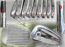 Hogan Apex II White Cameo 2-E Golf Irons.  Apex 3 Regular Flex