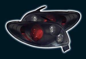 Peugeot 206 Back Tail Rear Black For Lexus Lights Lighting Lamp 98-07