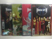 House of M #1-4 - Secret Wars - Complete Set