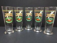 The Big Kahuna Kona Brewing 23 Oz Beer Glass Gecko Lizard 8 1/2 In Lot of 5