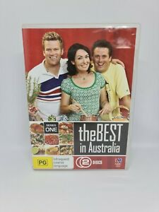 THE BEST IN AUSTRALIA Series One DVD Region 4 TV Show VERY GOOD CONDITION