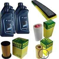Inspektionspaket 5L BMW Öl TwinPower 5W-30 MANN-FILTER 3er E46 64030230
