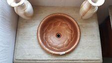 Round Designer Copper Sink