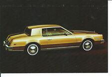 N-150 - 1979 Oldsmobile Toronado Automobile Car Stackhouse Olds Promotional Card