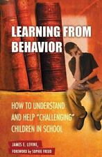 Child Psychology and Mental Health: Learning from Behavior : How to...